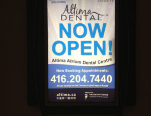 Altima-Atrium-Dental-Centre-Now-Open-Poster-300x230