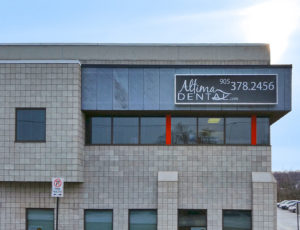 Altima-Pelham-Dental-Centre-Wall-Sign-St-Catharines-300x230