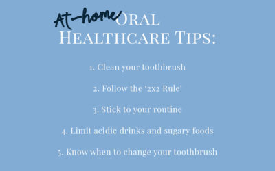 At-home Oral Healthcare Tips