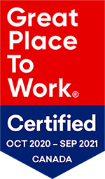 Great Place to Work 2021 Badge