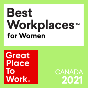 Best Workplaces for Women Badge 2021